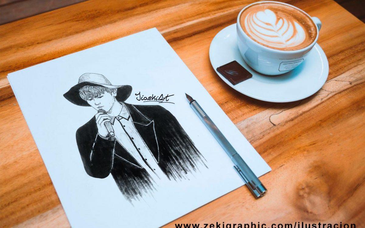 ILUSTRACION_jiaekiart_personalizada-zekigraphic_cuadro_tinta